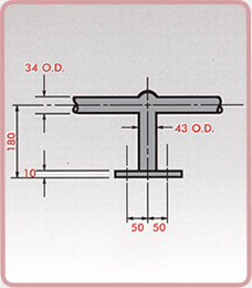 Ladder Stanchions - Top Mount