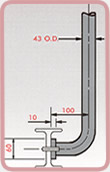 Stanchion Mounting Dimensions 4