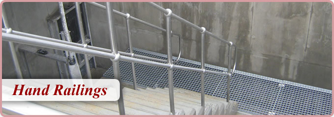 Steel Hand Railings